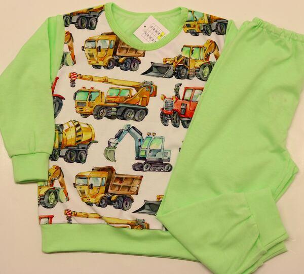 """143-Pidžaama """"Traktor"""" """"Roosid"""""""